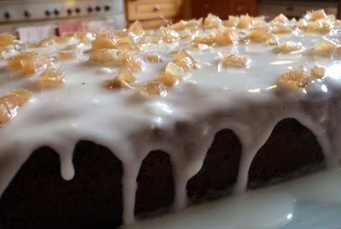 Spicy Ginger Cake icing